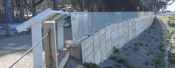Block Retaining Wall Tie Backs : Retaining wall